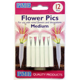 Medium Flower Posy Pics 12pk