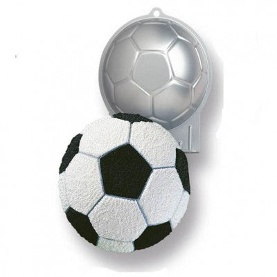 Wilton Soccer Ball Half Tin