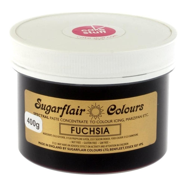 Fuchsia SugarFlair Gel paste 400g