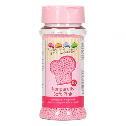 Light Pink  Nonpareils 80g