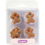 Culpitt Edible Gingerbread Men