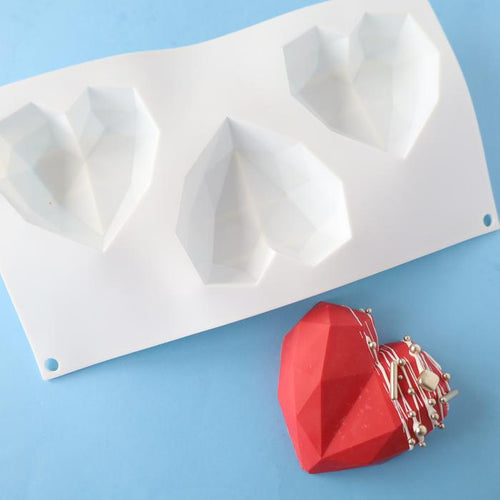 Heart Geometric Mould Standard