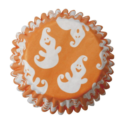 Ghost Cupcake Cases Pk 54