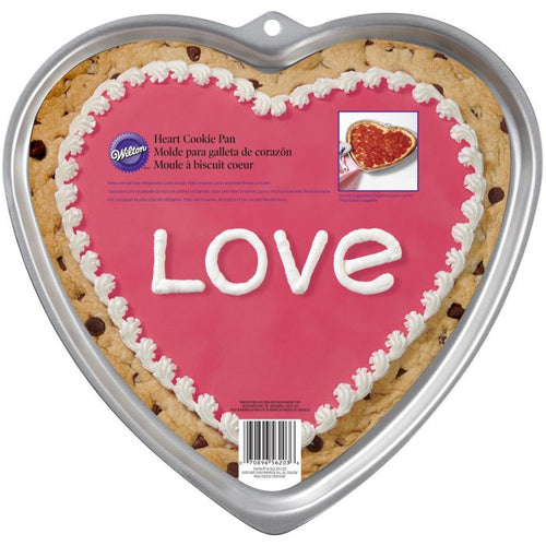 Giant Heart Cookie Tin