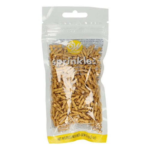 Gold Arrow  Sprinkles 56g WILTON