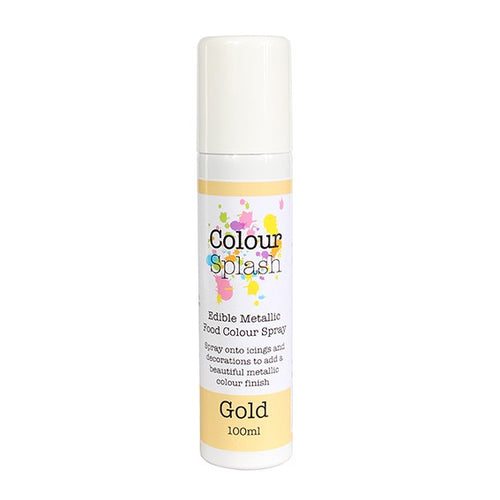 Colour Splash Gold Spray 100ml