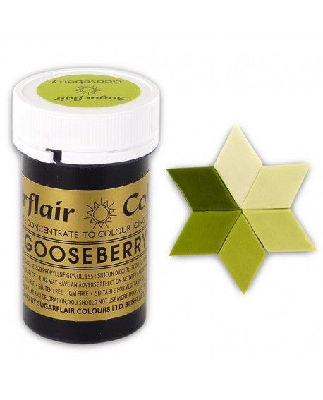 Gooseberry SugarFlair Gel paste