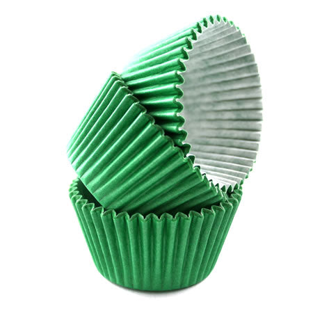 Cupcake Cases Sleeve 180 Green