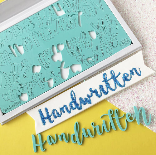 Handwritten SWEET STAMP Upper & Lower Case
