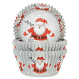 Ho Ho Ho Baking Cases Pk 50 HOM
