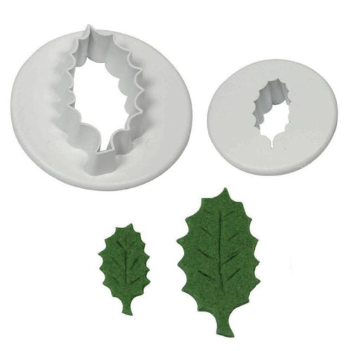 Holly Leaf Cutters Set 2 PME