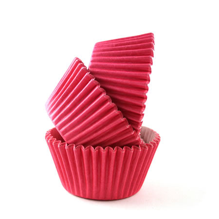 Cupcake Cases Sleeve 180 Hot Pink