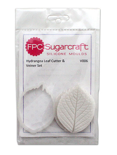 Hydrangea Leaf Cutter and Veiner Set FPC