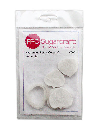 Hydrangea Petal Cutter and Veiner Set FPC