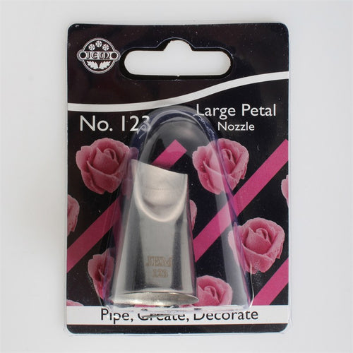 JEM 123 Large Petal Piping Nozzle