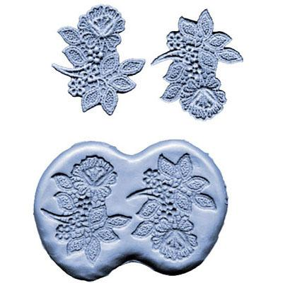 Lace Mould 3 Inch Flowers