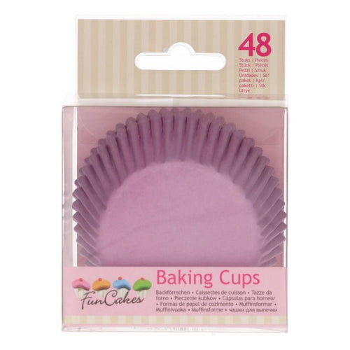 Lilac Baking Cup Pk 48