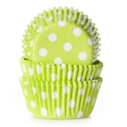 Lime Green Mini Cases Pk 60 House of Marie
