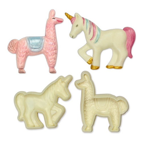 Llama and Unicorn Mould JEM