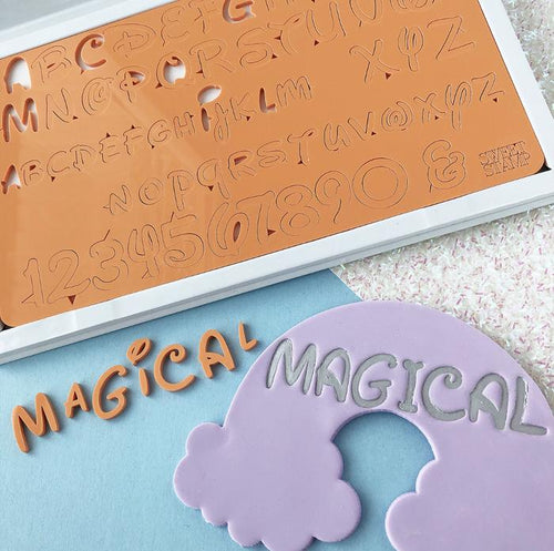 Magical SWEET STAMP Upper & Lower Case, Numbers and Symbols