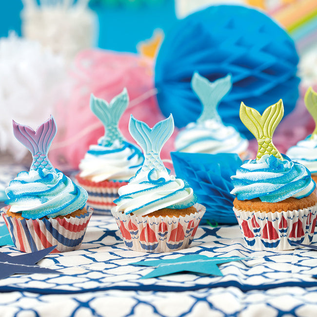 Mermaid  Sugar Decorations