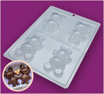 Mini Bear  3 Part Mould