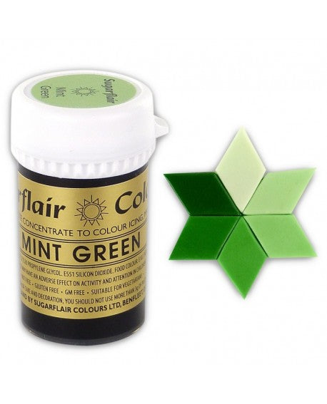 Mint Green SugarFlair Gel paste