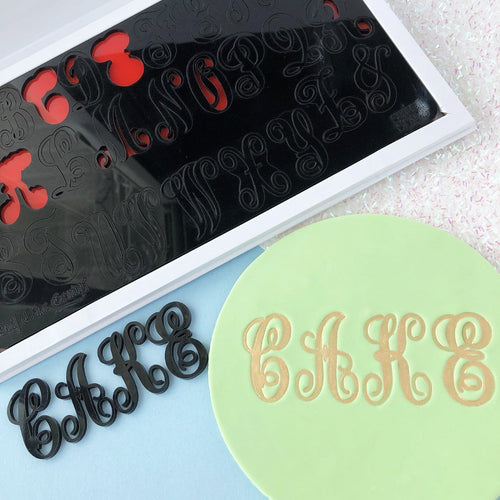 Monograms by Evil Cake Genius SWEET STAMP