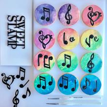 Music Notes  Elements  SWEET STAMP