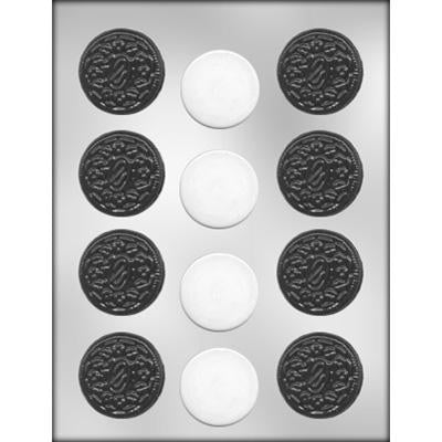 Oreo   Chocolate Mould 12 Cavity