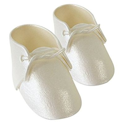 PME Baby Bootees Shoes Topper White