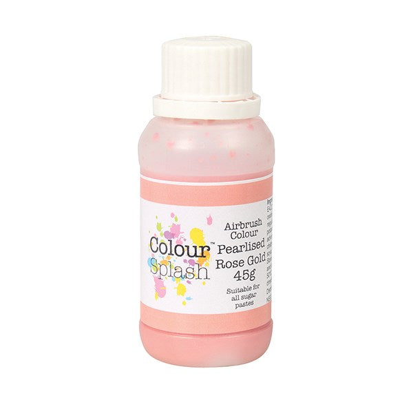 Colour Splash Airbrush Colour 45g Pearl Rose Gold