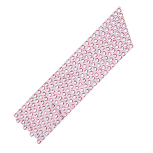 Pink Diamond Rhinestone Ribbon 10 Metres