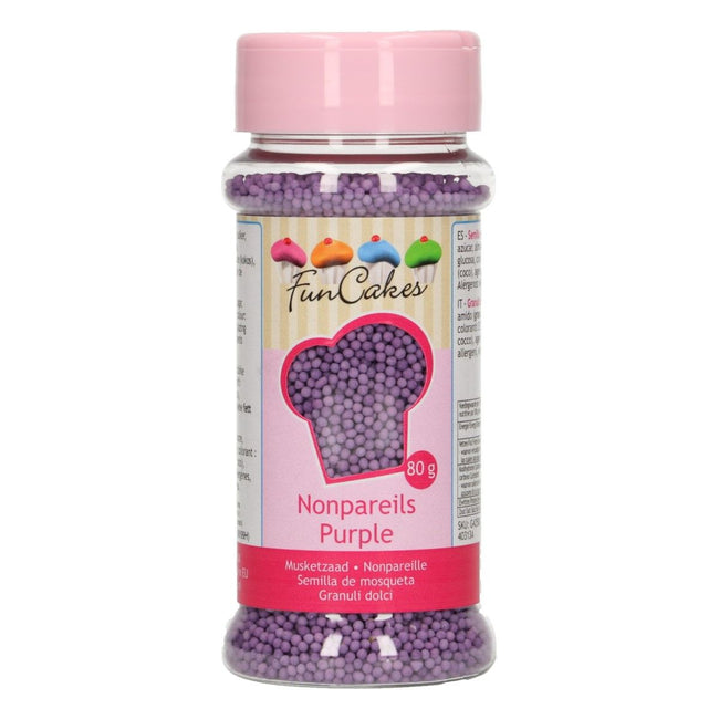 Purple  Non Pareils 80g