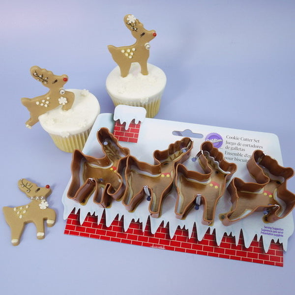 Mini Reindeer Cutters