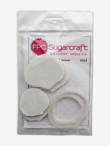 Rose Petal  Cutter and Veiner Set FPC