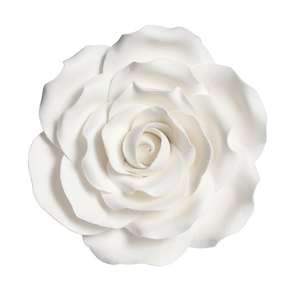 Gumpaste Rose White 101mm/4""
