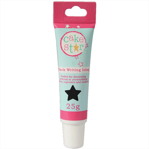 Cake Star Black Writing Icing 25g