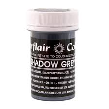Shadow Grey SugarFlair Gel paste