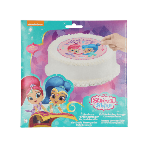 Shimmer and Shine Edible Disc 16cm