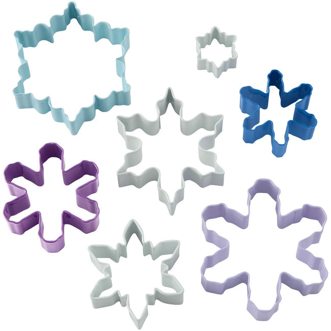 Snowflake Cookie Cutters Set 7