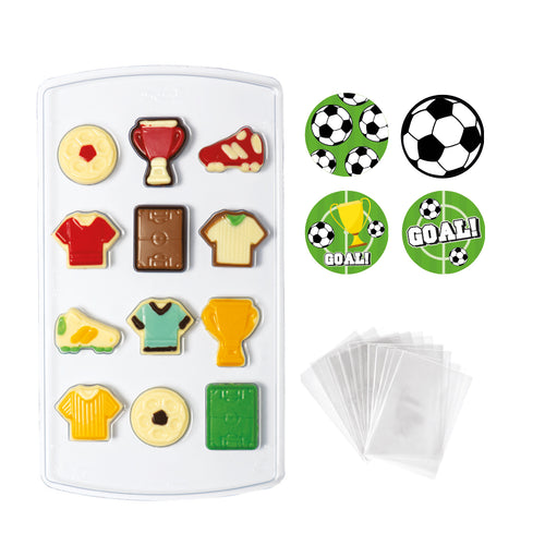 Soccer Chocolate  Mould Kit