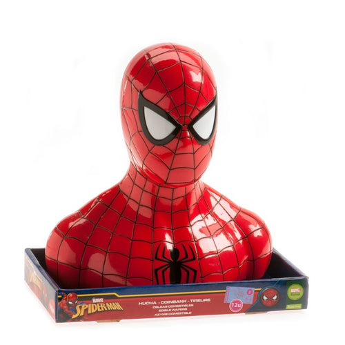 Spiderman Coinbank Cake  Topper