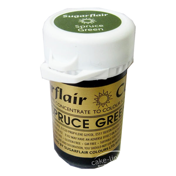 Spruce Green  SugarFlair Gel paste