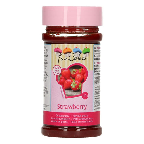 Strawberry Flavour 120g