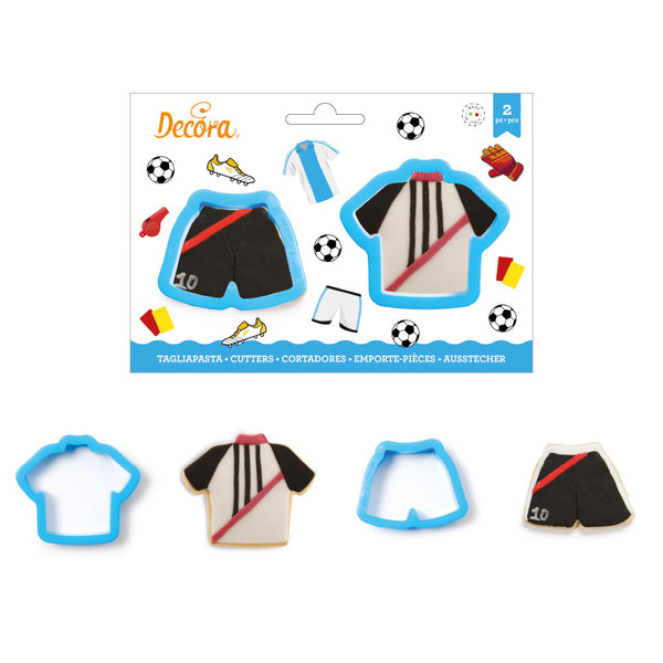 Tee Shirt and Shorts  Cookie Cutters