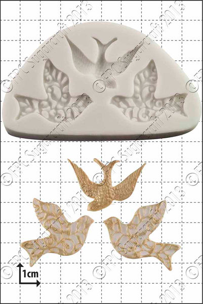 Three Little Birds Mould FPC C095