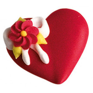 Red Valentines Sugar Hearts Box  48