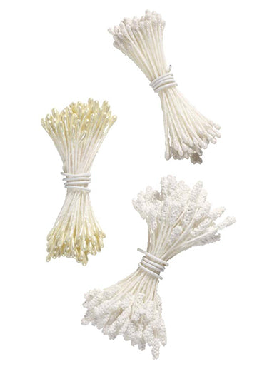 Wilton White Stamen Set 180pcs