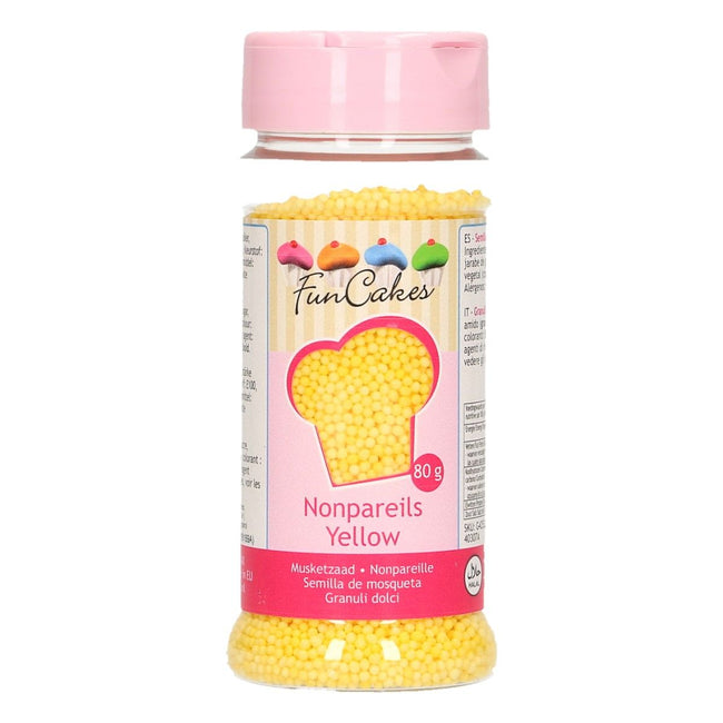 Yellow  Non Pareils 80g
